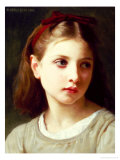 Une Petite Fille, 1886 Giclee Print by William Adolphe Bouguereau