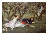 Le Printemps Giclee Print by James Tissot