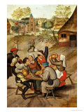 The Servants Breakfast After the Wedding Posters by Pieter Bruegel the Elder
