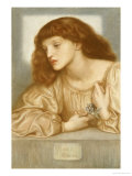 May Morris, 1872 Prints by Dante Gabriel Rossetti