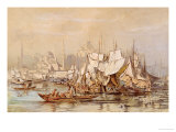 Constantinople, 1858 Giclee Print by Amadeo Preziosi