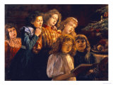 The Choir Premium Giclee Print by Paul Barthel