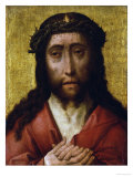Christ, the Man of Sorrows Print by Albrecht Bouts