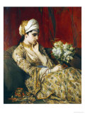 The Odalisque Prints by Jan Frans Portaels