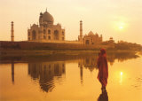 Prière indienne Posters par Peter Adams
