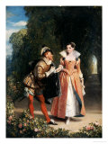 The Proposal Prints by Charles Robert Leslie