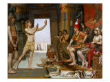 Joseph Interpreting Pharaoh's Dream, 1893-4 Reproduction procédé giclée par Reginald Arthur