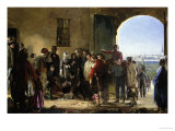 The Mission of Mercy, Florence Nightingale Receiving the Wounded at Scutari Giclee Print by Jerry Barrett