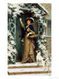 Christmas Cheer Premium Giclee Print by George Sheridan Knowles