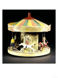 A Rare Model Fairground Carousel Britains, 1930s Posters