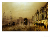 Glasgow Docks Prints  by  John Atkinson Grimshaw