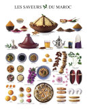Taste of Morocco, Art Print
