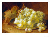 Grapes on a Silver Plate, 1893 Posters by Eloise Harriet Stannard