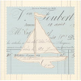 Vintage Toy Sailboat Prints by  Z Studio