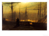 Home Again Prints by John Atkinson Grimshaw