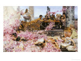 The Roses of Heliogabalus, 1888 Print by Sir Lawrence Alma-Tadema