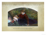 Enid and Geraint Posters by Arthur Hughes