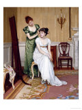 Preparing for the Ball, 1896 Giclee Print by Charles Haigh-Wood