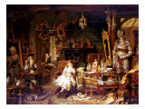 The Old Curiosity Shop Premium Giclee Print by John Watkins Chapman