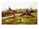 Over the Ditch (Late 19th Century) Giclee Print by George Derville Rowlandson