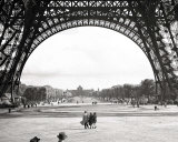 Under the Eiffel Tower Prints by Pierre Jahan