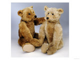 A Large Steiff Rich Honey Golden Plush Covered Teddy Bear, circa 1910 Giclee Print by Steiff 