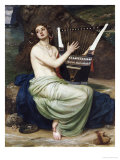 The Siren, 1864 Giclee Print by Edward John Poynter