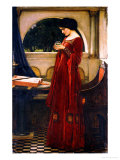 The Crystal Ball, 1902 Lmina gicle por John William Waterhouse