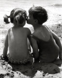 Kids Kissing Prints