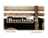 Bourbon Street, New Orleans Photographic Print by Cynthia Stephens Williams