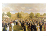 Queen Victoria's Jubilee Garden Party, circa 1897 Giclee Print by Frederick Sargent