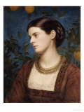Katrine, Countess Cowper, 1875 Giclee Print by Edward Clifford