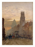 Fleet Street by Temple Bar, 1898 Giclee Print by Herbert Menzies Marshall