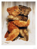 Two Steiff Teddy Bears Embracing Giclee Print by Steiff 