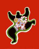 Nana Power Affiche par Niki De Saint Phalle