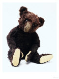 Mr. Teddy Bear Black, a Rare Black Steiff Bear, circa 1912 Giclee Print by  Steiff