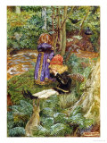 They Sat Down and Cried Giclee Print by John Byam Shaw