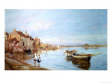 All on a Summer's Day, at Bosham, Sussex Giclee Print by Charles William Wyllie