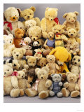 A Large Selection of Teddy Bears Art