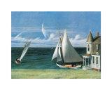 Das Ufer des Lee Poster von Edward Hopper