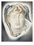 The Head of Medusa, 1884 Prints by Simeon Solomon