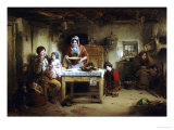 Home and the Homeless, 1856 Posters by Thomas Faed