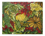 Leaves Fantasy World Giclee Print by Pavlina Panova