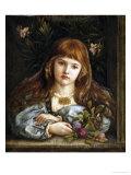 La Pensierosa, 1879 Giclee Print by Marie Spartali Stillman