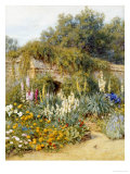Gertrude Jekyll's Garden, Munstead Wood Giclee Print by Helen Allingham