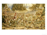 The Batrachomyomachia: The Battle Between the Frogs and the Mice, 1871 Premium Giclee Print by Henry Barnabus Bright