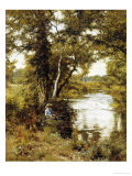 The Brook He Loved, 1892 Giclee Print by Edward Wilkins Waite