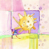 Sunny Day Print by Robbin Rawlings