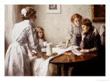 The Letter, 1912 Giclee Print by Thomas Benjamin Kennington