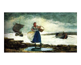 Boats Inside the Bar Giclee Print by Winslow Homer